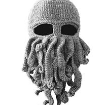 Dealzip Inc® Fashion Light Grey Octopus Cthulhu Shape