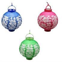 Light Up Hibiscus Lanterns: set of 3