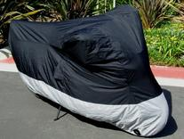 "Deluxe all season Motorcycle cover . Fits up to 84"" length"