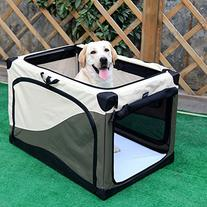 Petsfit 36 X 24 X 23 Inches Light Weight Travel Pet Home