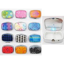 Light Up Led Pill Box Medicine Drug Container Case Holder