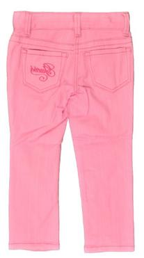 Guess Little Girls Light Pink Rose Daredevil Skinny Leg Jean