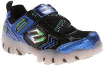 Skechers Kids Light-Up Spektra Sneaker,Blue/Black,12 M US
