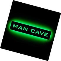 Lighted Man Cave Sign - LED Backlit Man Cave Sign