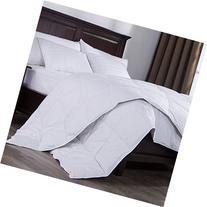 Puredown Lightweight Down Comforter Duvet Insert 100% Cotton