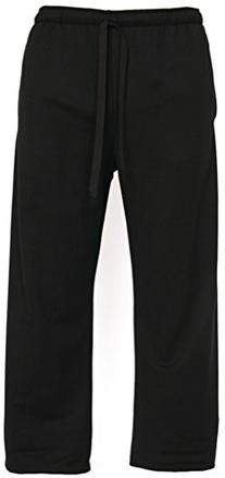Yoga Clothing For You Mens Lightweight Pants, Large Black