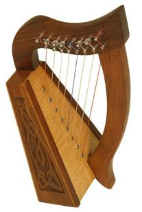 """Roosebeck Lily Harpâ"""" 8-String KnotworkBlemished"""