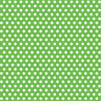 Lime Green Polka Dots Wrapping Paper