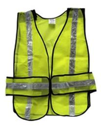 SE - Safety Vest - Green, 25x19in. - EP7015L