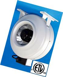 Supreme 6 inch In-Line Fan 440 CFM - ETL Listed
