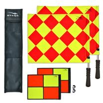 AGORA Pro Line Duo Premium Rotating Soccer Referee Flags