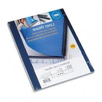 GBC VeloBind Linen Weave Standard Presentation Covers, 11 x