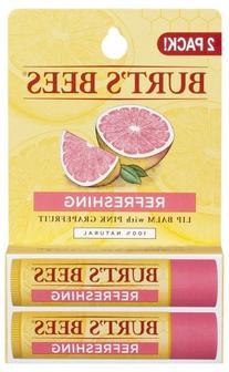 Burt's Bees - Lip Balm Pink Grapefruit - 2 x .15 oz. Tubes