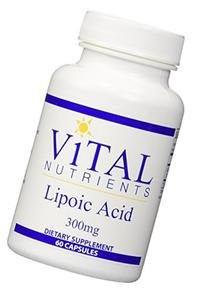 Vital Nutrients - Lipoic Acid 300 mg - Multi-Purpose