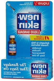 New-Skin Liquid Bandage, First Aid Liquid Antiseptic, 1-