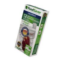 FoodSaver Liquid Block 1-Qt Heat-Seal Barrier Bags, 12pk