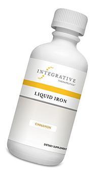 Integrative Therapeutics - Liquid Iron - With Vitamin B12