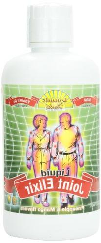 Dynamic Health Liquid Joint Elixir with MSM Supplement,