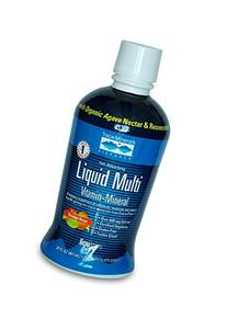 Liqumins Liquid Multi Vita-Mineral with ConcenTrace, Orange