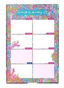 Lilly Pulitzer List Pad, Scuba to Cuba