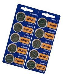 Lithium 3V Batteries CR2032 10 pack