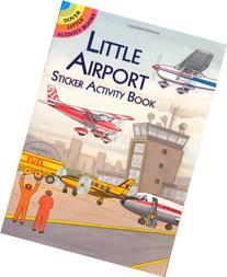 Little Airport Sticker Activity Book