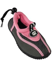 Starbay - Little Girls Athletic Water Shoe, Pink, Grey 37846