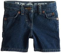 Dickies Little Boys' Toddler Denim Carpenter Short, Tinted