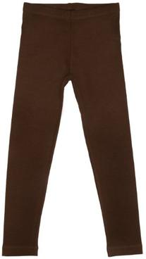 Little Girls Leggings Brown XLarge