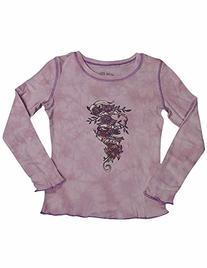 Jade - Little Girls' Long Sleeved Tee, Lotus 7820-4