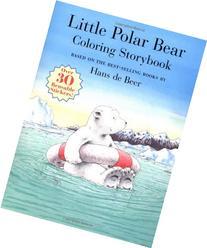 Little Polar Bear Coloring Storybook