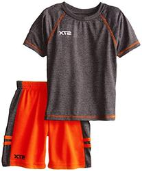STX Little Boys' 2 Piece Performance Athletic T-Shirt and