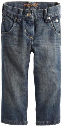 Wrangler Little Boys' Toddler Relaxed Fit Boot Cut Jeans,