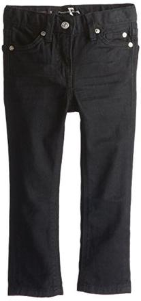7 for All Mankind Little Boys' Toddler Slimmy Jeans, Black
