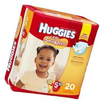 Huggies Little Snugglers Diapers - Size 5 - 124 ct