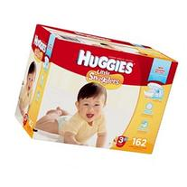 Huggies Little Snugglers Size 3 Disposable Diapers - 162