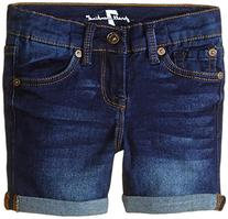 7 For All Mankind Little Girls' Stretch Denim Mid-Roll Short