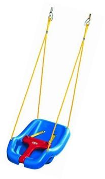 NEW Little Tikes 2-in-1 Snug 'n Secure Swing Blue - Free