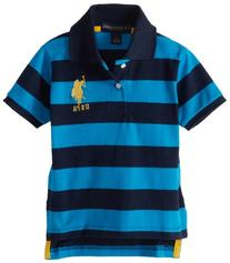 U.S. Polo Assn. Little Boys' Toddler Yachtsman Pique Polo