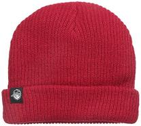 Neff Little Boys' Youth Fold Beanie, Red, One Size