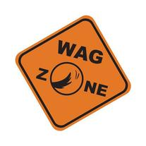 LittleGifts Wag Zone Car Magnet