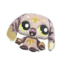 Littlest Pet Shop LPSO Pets Plush Brown Dog