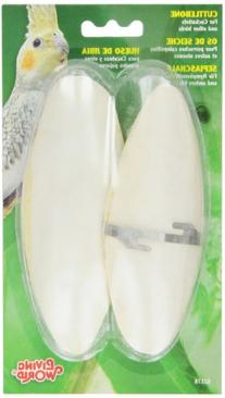 Living World Cuttlebone, Large, Twin Pack