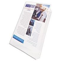 -- Top-Load Poly Sheet Protector, Super Heavy Gauge, Letter