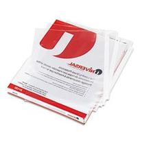 ** Top-Load Poly Sheet Protectors, Standard, Letter, Clear,