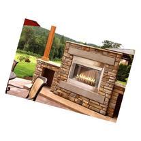 Outdoor Loft 36 inch Premium Fireplace OLP36FP72SP - Liquid