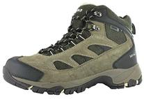 Hi-Tec Logan Men's Hiking Boots Waterproof, SMKY BRN/OLIVE/