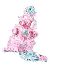 Lollipop Baby Shower Diaper Cake for Girls