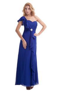 Dresstells Long Bridesmaid Dress Formal Chiffon Evening Gown