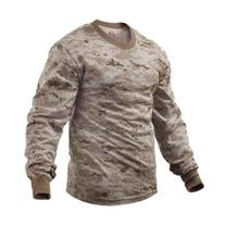 Rothco Long Sleeve Digital Camouflage T-Shirt, Desert